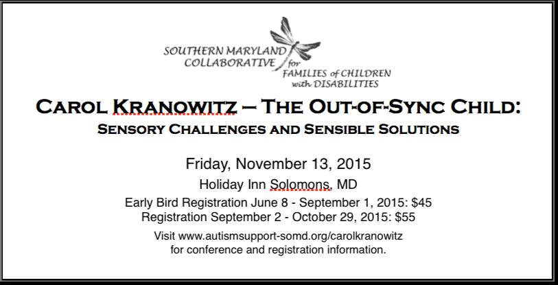 Carol Kranowitz Conference